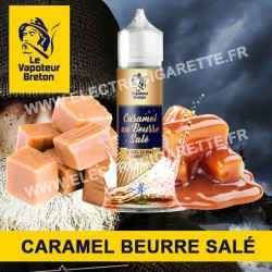 Caramel au beurre salé - L'Authentic - Le Vapoteur Breton - ZHC - 50 ml
