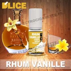 Rhum Vanille - D'Lice - 10 ml