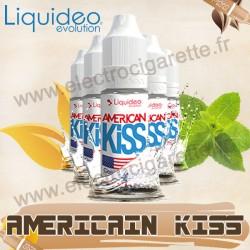 5 flacons American Kiss - Liquideo