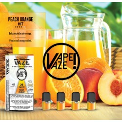Peach Orange - Pod Pré-remplie - Vaze