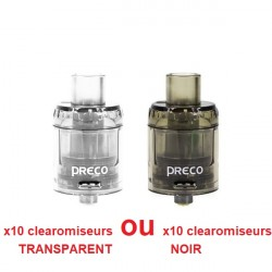 Preco Tank 3ml (pack de 10 clearomiseurs) - Vzone