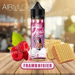 Framboisier - C'est pas d'la tarte - Airmust - ZHC 50 ml