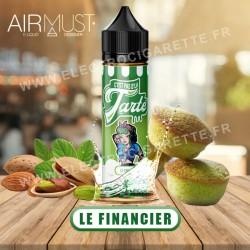 Le Financier - C'est pas d'la tarte - Airmust - ZHC 50 ml