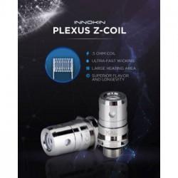 Pack de 5 résistances Plexus MTL Zenith 3ml ou 4 ml - Innokin