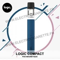 Cigarette électronique Compact Bleu - Logic Compact - Pod magnétique