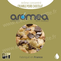 Crumble Poire Chocolat - Aromea