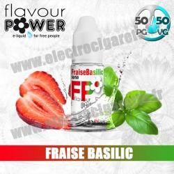 Fraise Basilic - Premium - 50/50 - Flavour Power