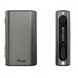 iPower TC80 5000 mAh - Eleaf - Alu Brossé