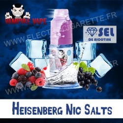 Heisenberg Nic Salts - Vampire Vape - 10 ml - Sel de Nicotine
