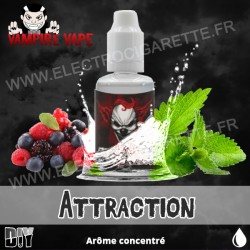 Attraction - Vampire Vape - Arôme concentré - 30ml