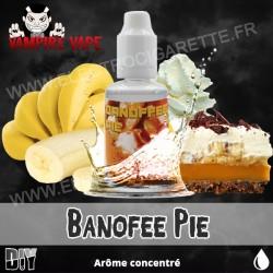 Banoffee Pie - Vampire Vape - Arôme concentré - 30ml
