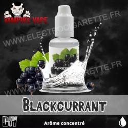 Blackcurrant - Vampire Vape - Arôme concentré - 30ml