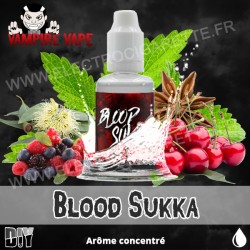 Blood Sukka - Vampire Vape - Arôme concentré - 30ml