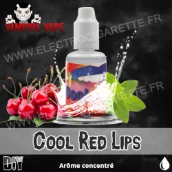 Cool Red Lips - Vampire Vape - Arôme concentré - 30ml