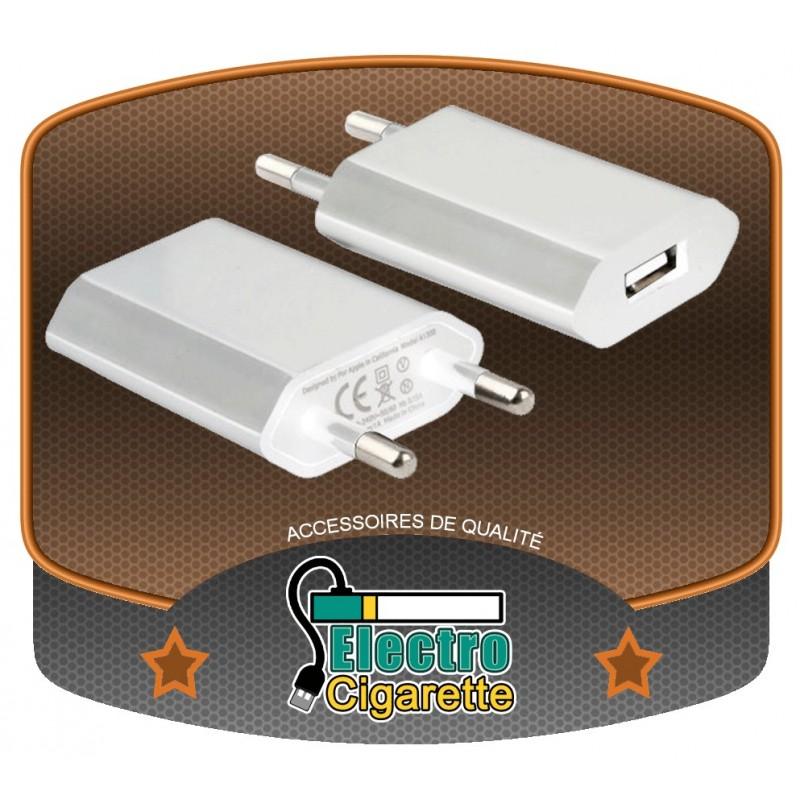 Adaptateur secteur USB fin