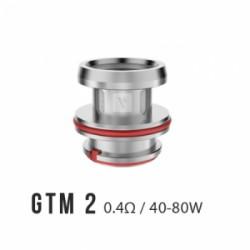 Pack de 3 résistance 0.4 Ohm GTM-2 Cascade - Vaporesso