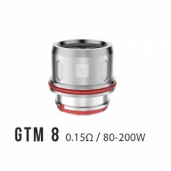 Pack de 3 résistance 0.15 Ohm GTM-8 Cascade - Vaporesso