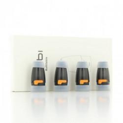 Pack de 4 Pods 1.7ml 1.8ohm pour Kubi Pod - Hotcig