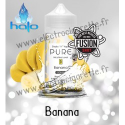 Banana - Pure - Halo Shake n Vape - ZHC 50ml