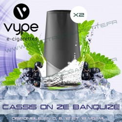 Cartouche Pod Vype ePen 3 Cassis on ze banquise - Vype