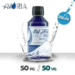 Base 250ml - 0mg - Avoria - 50% VG / 50% PG