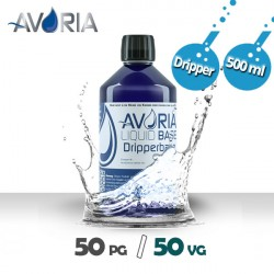 Base DripperBase 500ml - 0mg - Avoria - 50% PG / 50% VG