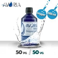 Base DripperBase 500ml - 0mg - Avoria - 50% PG / 50% VG