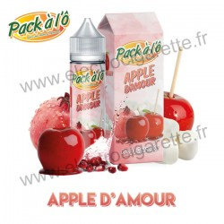 Apple d'Amour - Candy Sensation - Pack à l'Ô - ZHC 50ml