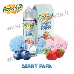 Berry Papa - Candy Sensation - Pack à l'Ô - ZHC 50ml