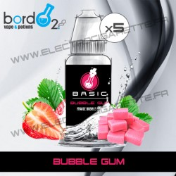 Pack de 5 x Bubble Gum - Basic - Bordo2