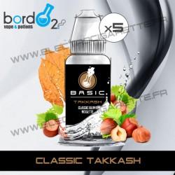 Pack de 5 x Classic Takkash - Basic - Bordo2