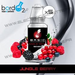 Pack de 5 x Jungle Berry - Basic - Bordo2