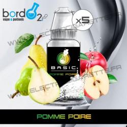 Pack de 5 x Pomme Poire - Basic - Bordo2