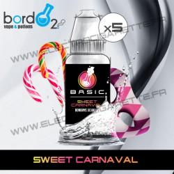 Pack de 5 x Sweet Carnaval - Basic - Bordo2