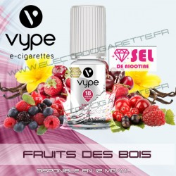 Fruits des bois - Vype - Sel de nicotine - 10 ml