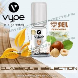 Classique Sélection - Vype - Sel de nicotine - 10 ml