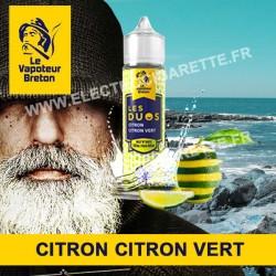 Citron Citron Vert - Les Duos - Le Vapoteur Breton - ZHC - 50 ml