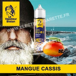 Mangue Cassis - Les Duos - Le Vapoteur Breton - ZHC - 50 ml
