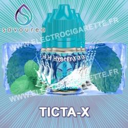 Pack 5 flacons Ticta-X - Hyster-X - Savourea - 10 ml