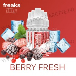 Pack de 5 x Berry Fresh - Fifty Freaks - 10 ml