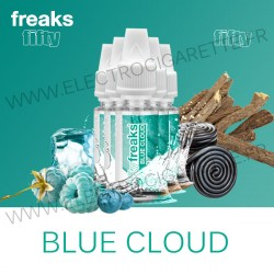 Pack de 5 x Blue Cloud - Fifty Freaks - 10 ml