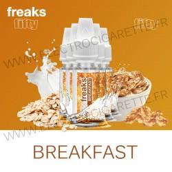 Pack de 5 x Breakfast - Fifty Freaks - 10 ml