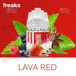 Pack de 5 x Lava Red - Fifty Freaks - 10 ml