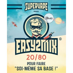 Base Easy2Mix 20/80 - 3mg - 200ml - SuperVape