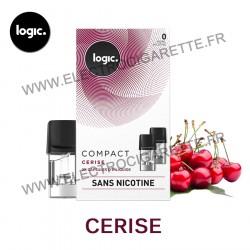 Cerise - Pack de 2 x Capsules (Pod) - Logic Compact
