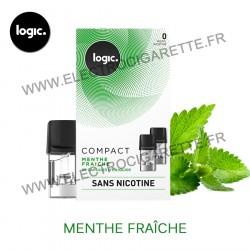 Menthe Fraîche - Pack de 2 x Capsules (Pod) - Logic Compact