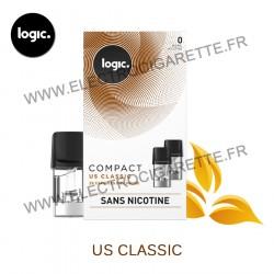 US Classic - Pack de 2 x Capsules (Pod) - Logic Compact
