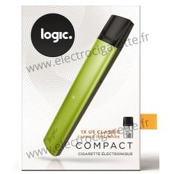 Cigarette électronique Compact VERT - Logic Compact - NOUVELLE COULEUR