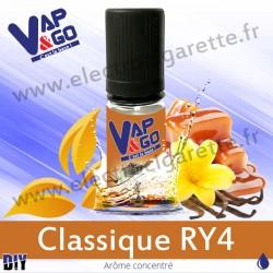 Classique RY4 - Vape&Go - Arôme concentré DiY - 10 ml
