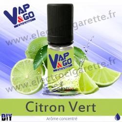 Citron Vert - Vape&Go - Arôme concentré DiY - 10 ml
